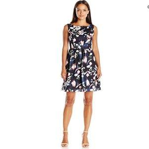 New Women's Soft Gathered Skirt Floral Print Dress